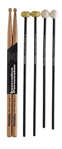 Innovative Percussion Fundamental Series Package FP1 Mallets - Keyboard Mallet Bag