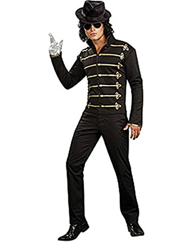 Michael Jackson Military Printed Jacket, Adult Large Costume