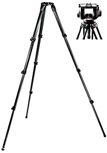 Manfrotto 509HD Video Head with 536 Carbon Fiber Tripod Legs
