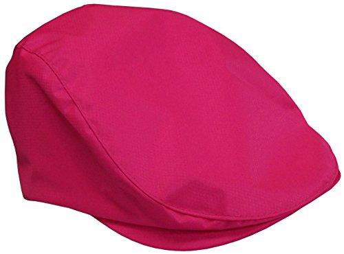 - N'Ice Caps Kids Classic Newsboy Cap (Teens, neon pink)