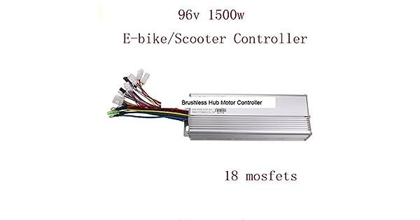 Amazon.com: 18 mosfets 96 V 1500 W Hub driver de motor sin ...
