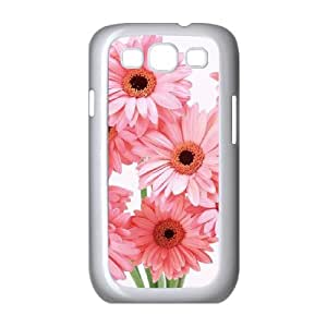 Samsung Galaxy S3 I9300 Beautiful Flowers Phone Back Case Custom Art Print Design Hard Shell Protection TY096378