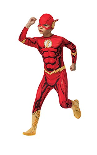 Rubies DC Universe Flash Costume, Child Small (Superheroes Outfit)