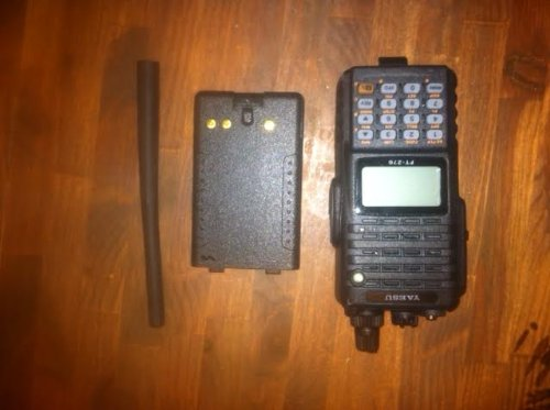 Yaesu FT-270R Submersible 5 Watt Amateur Radio 2 Meter VHF Transceiver