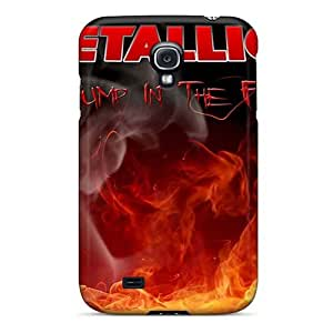 Samsung Galaxy S4 QnH19544mSSL Allow Personal Design Colorful Metallica Pictures Shockproof Hard Phone Case -LauraAdamicska