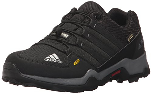 adidas Outdoor Kids' Terrex Gore-Tex Hiking Shoe, Black/Black/Vista Grey, 1.5 Child US Little Kid by adidas outdoor