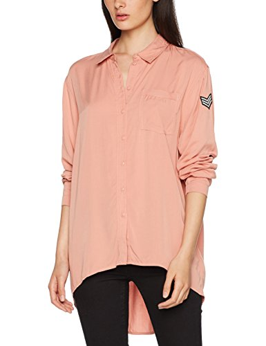 Femme Onlella Only S WVN Oversized Rose L Dawn Rose Shirt Blouse wS0gwq