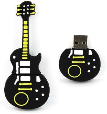 YooUSB - Memoria USB de 16 GB con diseño de guitarra negra y ...