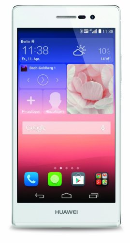 HUAWEI Ascend P7 P7-L10 16GB Unlocked GSM 4G LTE Smartphone (White)]()