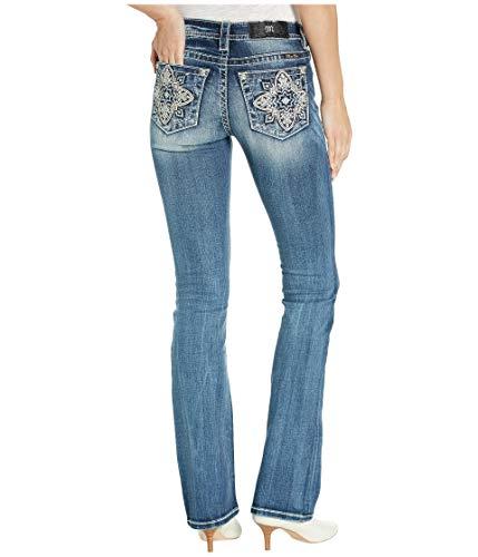 Miss Me Alluring Romance Bootcut Jeans Dark Blue (12 Jeans Miss Me)