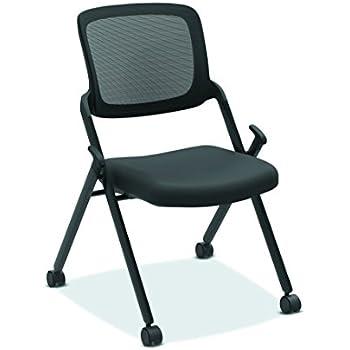 Amazon Com Hon Assemble Mesh Back Nesting Chair Armless