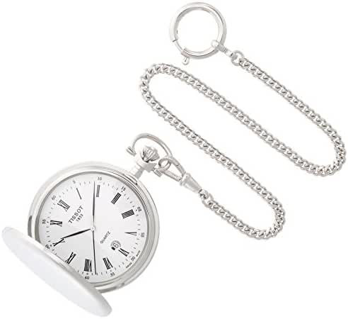Tissot Savonnettes Stainless Steel Pocket Watch T83655313
