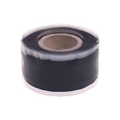 bcp-1-x-10-black-waterproof-silicone-rubber-self-fusing-tape-repair-tape-waterproof-adhesive-tape-50
