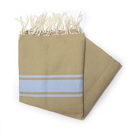 Maldivas Chocolate - 100% algodón toalla de baño, 100 cm x 200 cm,