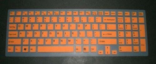 BingoBuy® Semi-Orange Backlit High Quality Silicone Keyboar