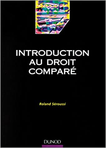 Introduction au droit comparé pdf