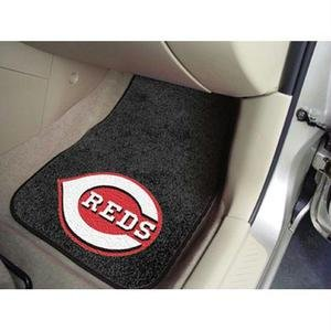 MLB - Cincinnati Reds 2 Piece Front Car Mats