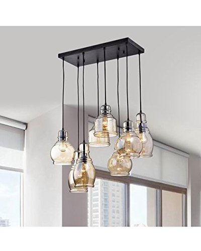 Cluster Glass Pendant Light Fixture