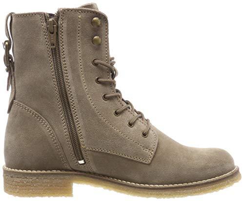 21 Combat taupe Women's Brown Boots Tamaris 341 25275 fpAEwAq8
