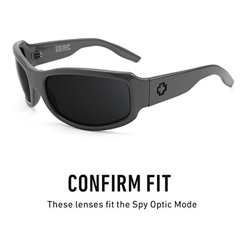 Polarizados de Opciones Mode repuesto Titanio — Lentes Optic Elite para múltiples Mirrorshield Spy SzxUw