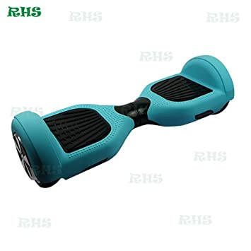 """6.5/"""" Self Balance Scooter Full Protection Silicone Cover Decoration Case"""