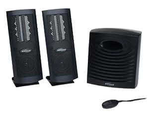 Monsoon MH-500 Flat Panel 3-Piece Computer Speakers