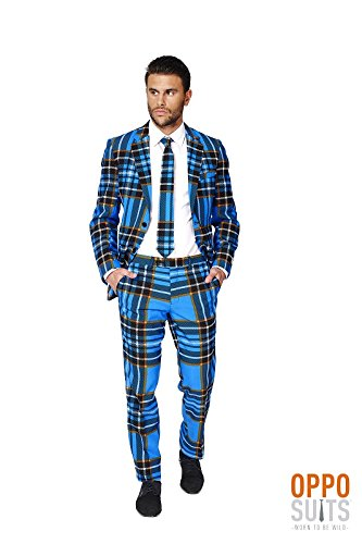 Mens 'Braveheart' Party Suit and Tie byOppoSuits, (Braveheart Costumes Halloween)