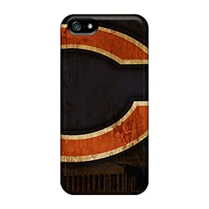 For Iphone 5/5s Protector Cases Chicago Bears Phone Covers by mcsharks