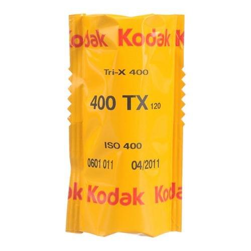 Kodak Tri-X Pan 400, TX 120 Black & White Negative Film ISO 400, 120 Size