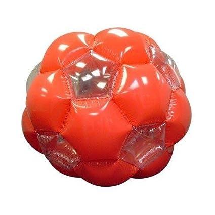 Amazon.com: kenscott Naranja/Blanco pelota hinchable de ...