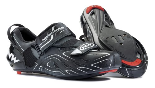 Northwave chaussures NW Tri-Sonic Noir Taille 44