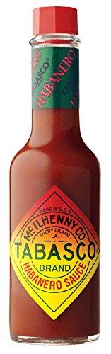 TABASCO Habanero Pepper Sauce, 1er Pack (1 x 60 ml)