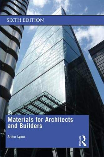Materials for Architects and Builders ()