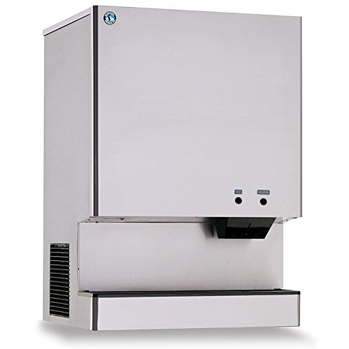 Hoshizaki DCM-751BAH 35'' Stanitary Cubelet Ice Machine and Dispenser with 801 lbs. Daily Ice Production Built-In 70 lbs. Ice Storage Corrosion Resistant Stainless Steel Exterior Adva by Hoshizaki