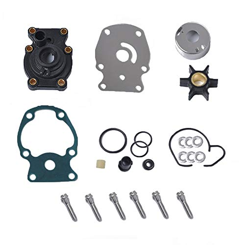 VideoPUP Motorboat Water Pump Impeller Repair Kit Repair Outboard Motor Parts Replacement 1980-UP compatible for Johnson Evinrude 20 25 30 35HP Sierra ()