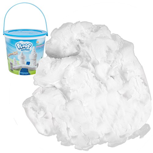 Playvisions Floof Modeling Clay- Reusable Indoor Snow - Endless Creations Possible, Mold Any Shape Or Design - 240 Grams