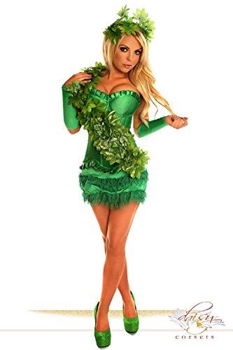 Daisy corsets 4 PC Sexy Ivy Vixen Superhero Halloween Costume (6X)]()