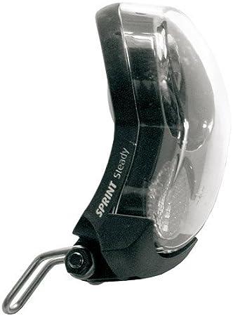 Foco LED 10 LUX AXA/basta Sprint para bicicleta negro con dinamo ...