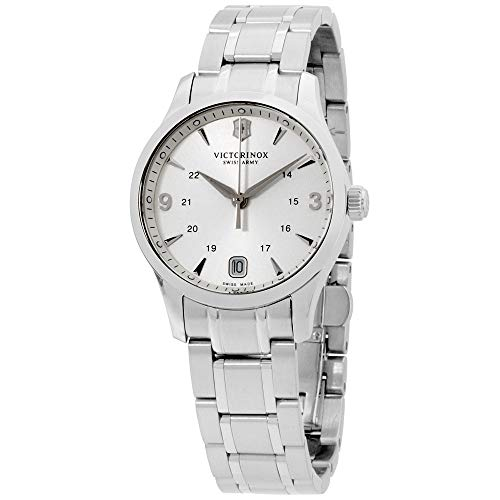 (Victorinox Alliance Silver Dial Stainless Steel Ladies Watch 241539XG (Renewed))