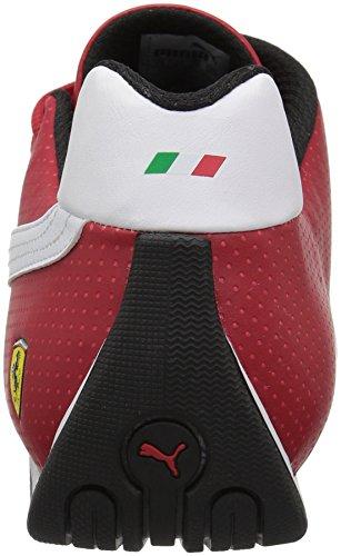 Puma Menns Ferrari Fremtiden Katt Og Sneaker Rosso Corsa-puma Hvit-puma Svart