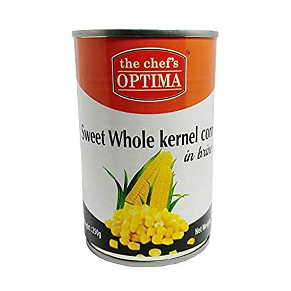 The Chef's Optima Sweet Whole Kernel Corn in Brine, 425 g