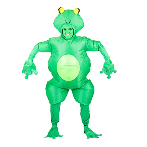 Bodysocks Adult Inflatable Frog Toad Fancy Dress Costume