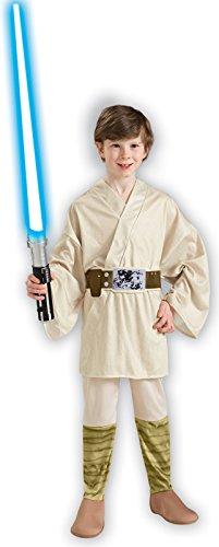 Rubie's Costume Co - Star Wars Luke Skywalker Child Costume - Small - (Kids Luke Skywalker Costumes)