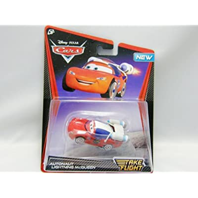 Disney / Pixar CARS TOON 155 Die Cast Car Take Flight Autonaut Lightning McQueen: Toys & Games