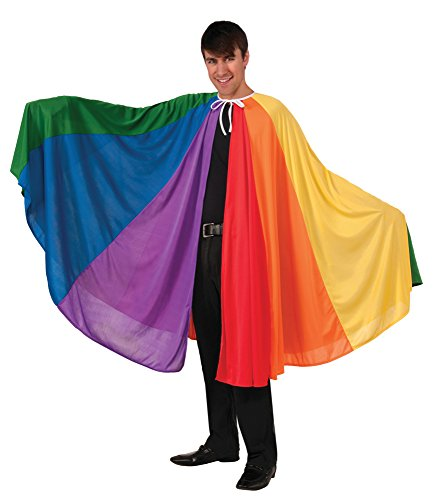 Forum Women's Rainbow Fantasy Cape, Multi, One Size for $<!--$19.75-->