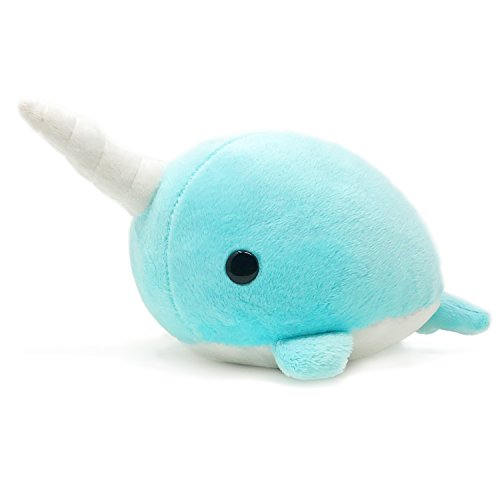 Bellzi Teal Narwhal Stuffed Animal Plush Toy - Adorable Plushie Toys and Gifts! - Narrzi (Is Big Bird A Boy Or Girl)