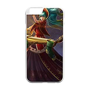Sona-003 League of Legends LoL case cover for Apple iPhone 6 - Plastic White