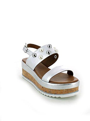 N Perle Platform Laminato E Sandalo 35 Con Argento Inuovo S6BqZB