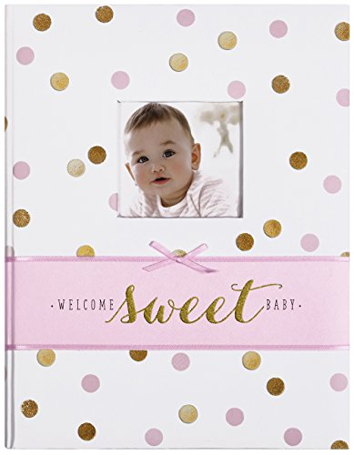 C.R. Gibson First 5 Years Memory Book, Record Memories and Milestones on 64 Beautifully Illustrated Pages - Sweet Sparkle from C.R. Gibson