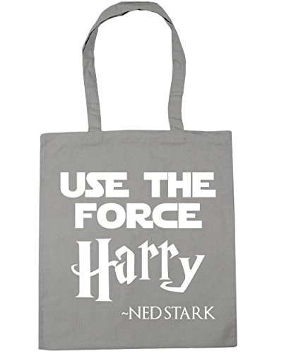 Gym x38cm force Beach ned Grey 10 Use harry Light litres Tote Shopping 42cm HippoWarehouse stark Bag the pT87qwxn
